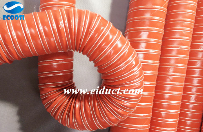 High Temp Silicone 2-ply Air Duct Hose