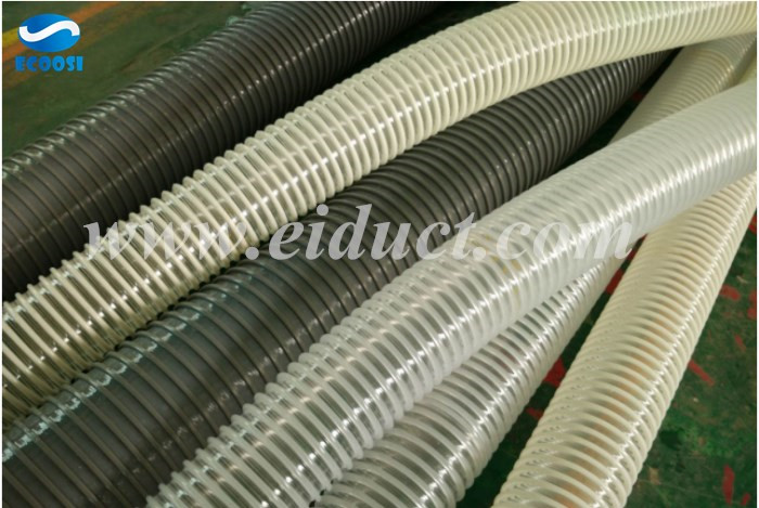 Polyurethane flexible dust collection hose