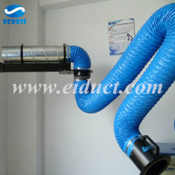 PVC flexible fume extraction hose