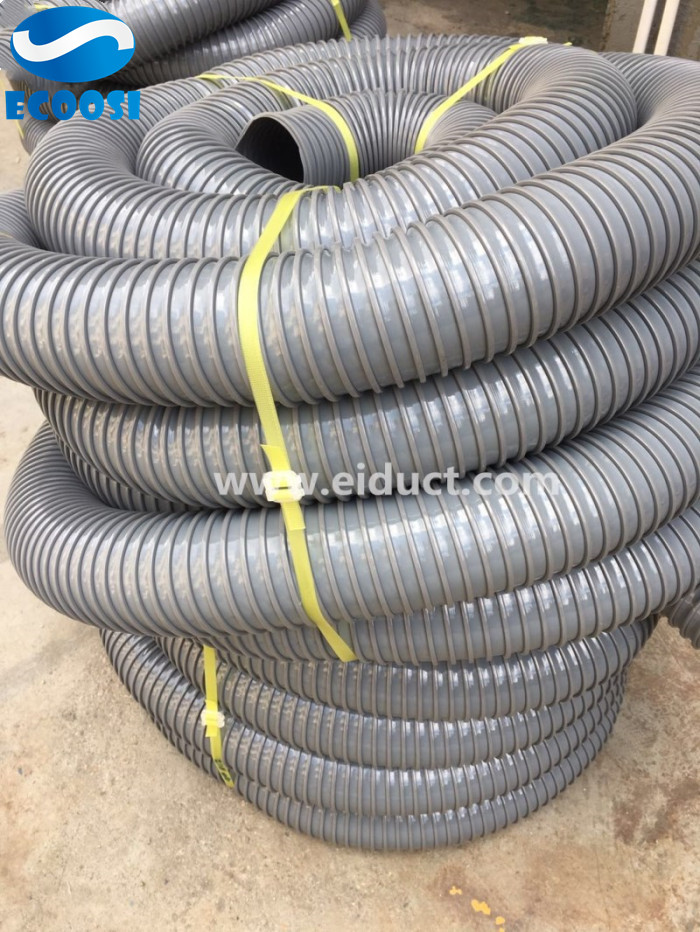 Grey-Industrial-PVC-Duct-Hose