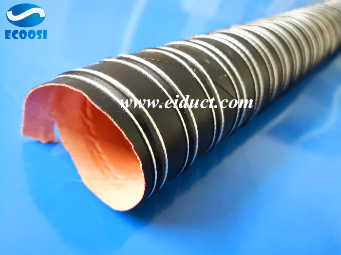 High Temp Silicone Ducting