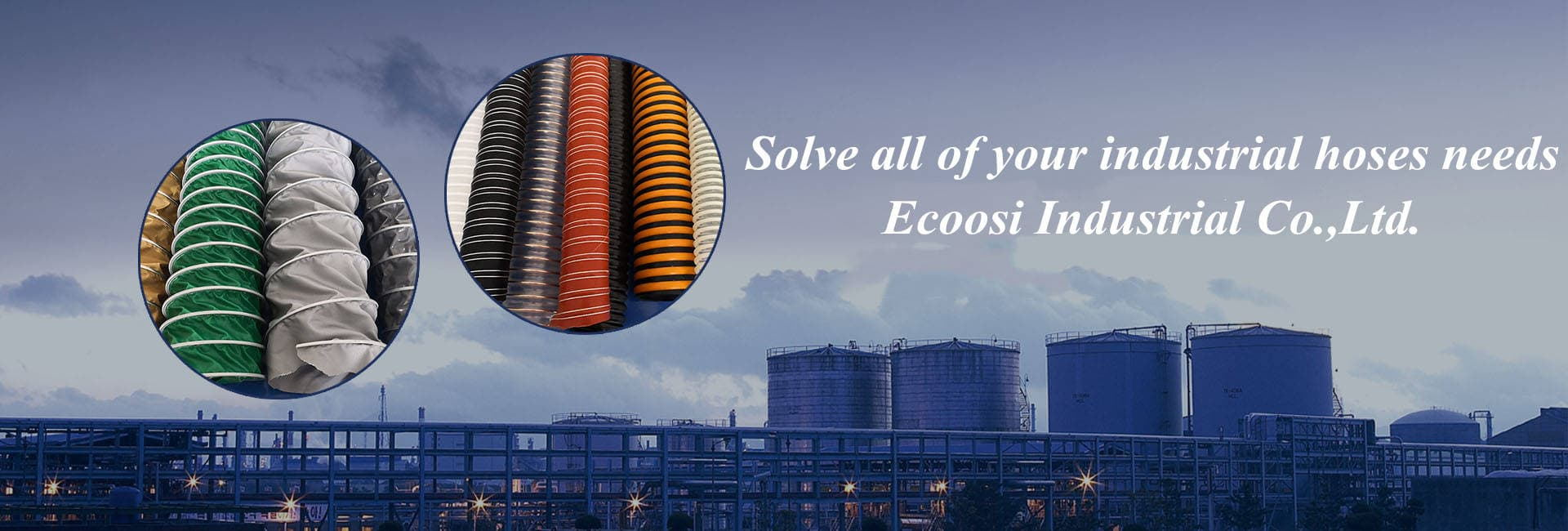 Industrial Flexible Air Ducting Hose From Ecoosi Industrial Co.,Ltd.