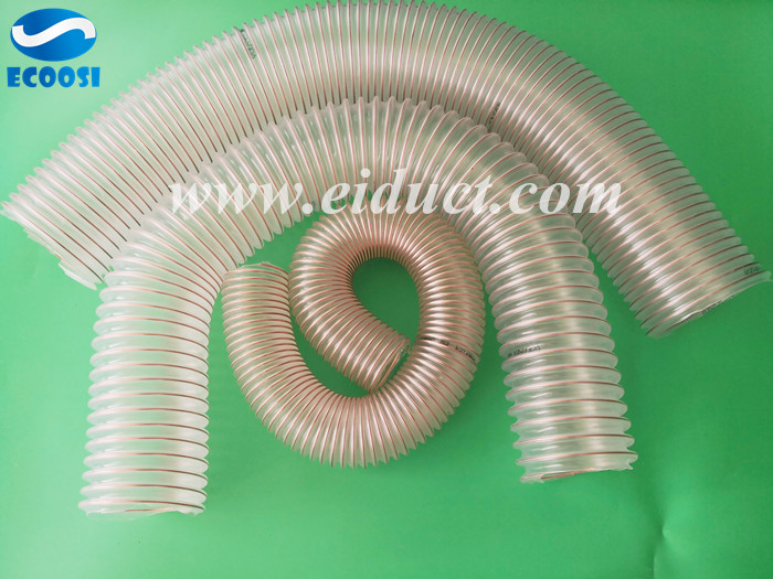 Polyurethane-PU-Duct-Hose-For-Woodworking