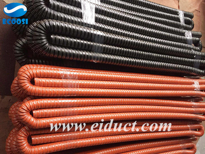 High Temperature Silicone 2 Ply Air Ducting Hose